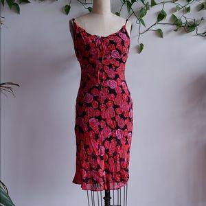 Vintage BETSEY JOHNSON Roses Dress